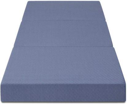 Olee Sleep Topper Tri-Folding Memory Foam Mattress