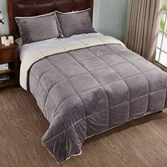 Peace Nest – Winter Sherpa Comforter Set
