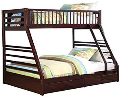 Pemberly Row Twin XL Over Queen Bunk Bed