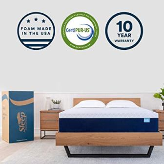 Sleep Innovations Alden 14-inch Memory Foam Mattress