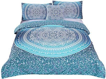 Sleepwish 4-Piece Bohemian Boho Luxury Twin Bedding Set
