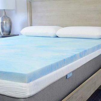 Sure2Sleep Soft-Plush Cool Gel Mattress Topper