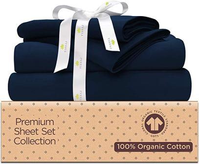Tissaj Organic Cotton Bed Sheets