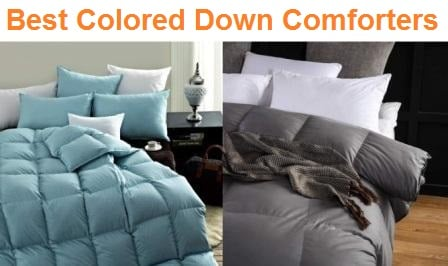 Top 15 Best Colored Down Comforters in 2019