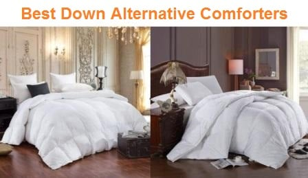 Cool Elegant All Season Overfilled Bamboo Plush Down Alternative Comforter