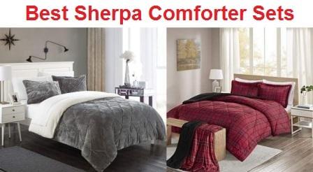 Top 15 Best Sherpa Comforter Sets in 2019