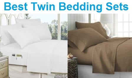 Top 15 Best Twin Bedding Sets in 2019