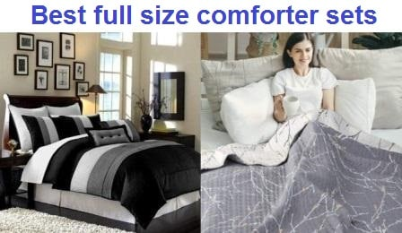 Top 15 Best full size comforter sets in 2019