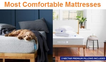 Top 15 Most Comfortable Mattresses in 2019