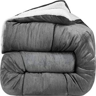 Utopia Bedding All Season Fleece Comforter Set