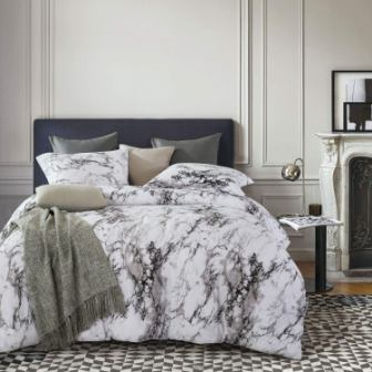 Wake In Cloud – Marble Comforter Set