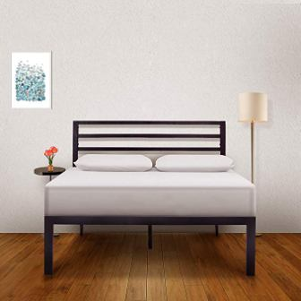 Ambee21 – Bed Frame with Headboard
