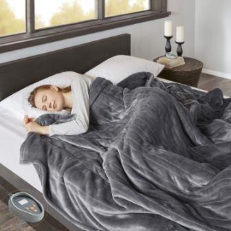 Beautyrest Electric Blanket (Grey)