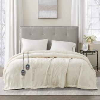 Beautyrest Plush Electric Blanket