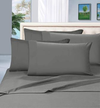 Elegant Comfort 6-Pc 1500 Thread Count Luxurious Egyptian Quality Sheet Set