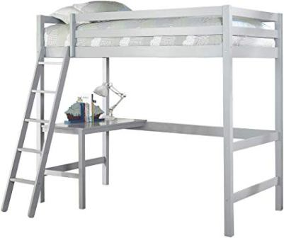 Hillsdale Furniture Gray Caspian Twin Size Loft Bed