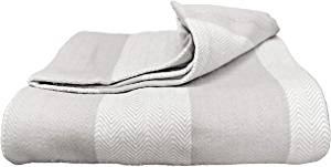 Magnolia Organics' Soft Organic Patterned Blanket