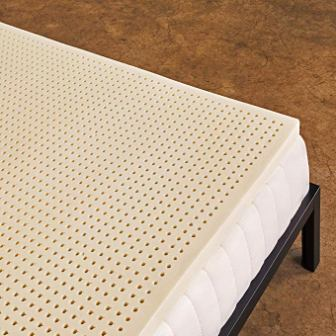 PURE GREEN 100% NATURAL LATEX FIRM MATTRESS TOPPER