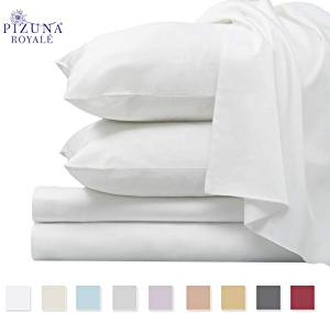 Pizuna Thick Cotton 1000 Thread Count Bed Sheet Set
