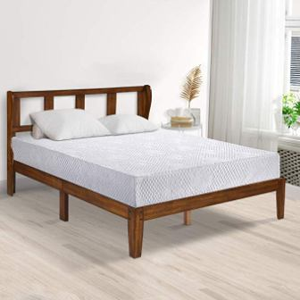 PrimaSleep 9 Inch Folding Bed Mattress, Twin, White