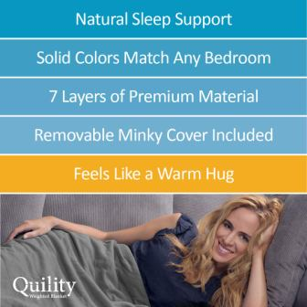Quility Premium Weighted Blanket Review