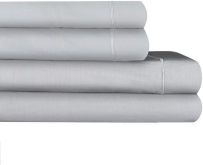 Renauraa 4-Pc 1500 Thread Count Rich Cotton Sheet Set