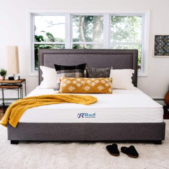 Sunrising Bedding Natural Latex Queen Mattress