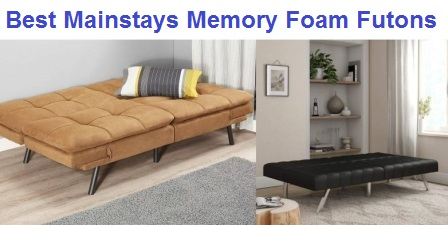 The Best Mainstays Memory Foam Futons in 2019