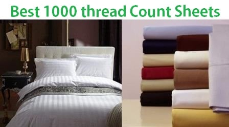 Top 15 Best 1000 thread count sheets in 2019