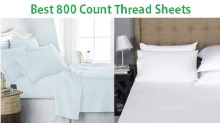 Top 15 Best 800 Count Thread Sheets in 2019