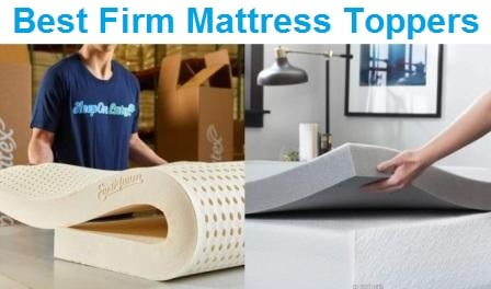 Top 15 Best Firm Mattress Toppers - Complete Guide & Reviews 2019