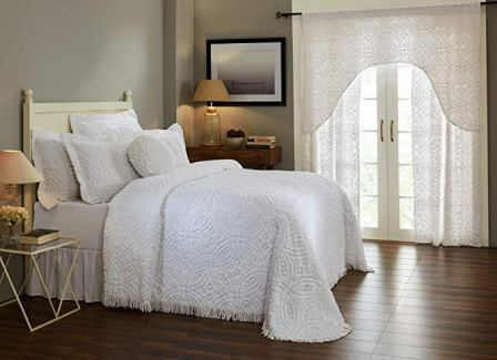 Better Trends Cotton Tufted Chenille Bedspread