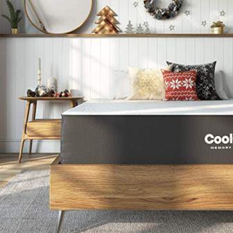 Classic Brands Cool Gel and Ventilated Memory Foam Mattress