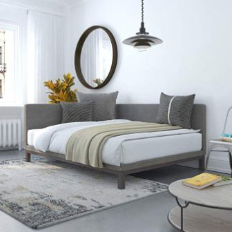 DHP Dale Full Size Upholstered Daybed