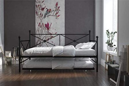 DHP Lina Full Size Metal Daybed