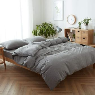FACE TWO FACE King-Size Duvet Cover