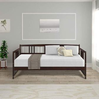 Harper & Bright Designs Full Size Wood Daybed