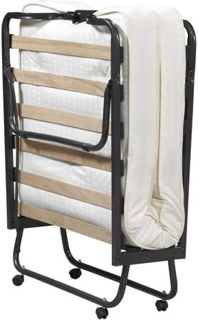Linon Home Folding Bed with Memory Foam