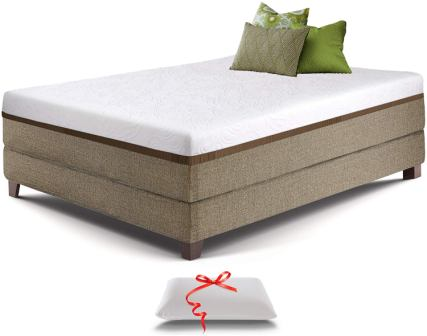 Live & Sleep Gel Memory Foam Mattress