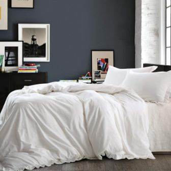 NTBAY Linen 3 Pieces Duvet Cover