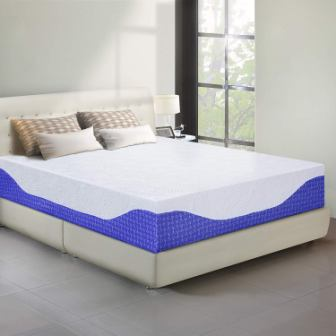 PrimaSleep 12-Inch I-Gel Infused Memory Foam Mattress