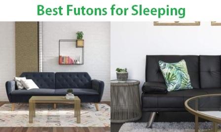 Top 15 Best Futons For Sleeping In 2020