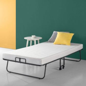 Zinus Roll Away Smart Guest Bed Frame
