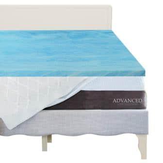 Advanced Sleep Solutions Foam Mattress Topper