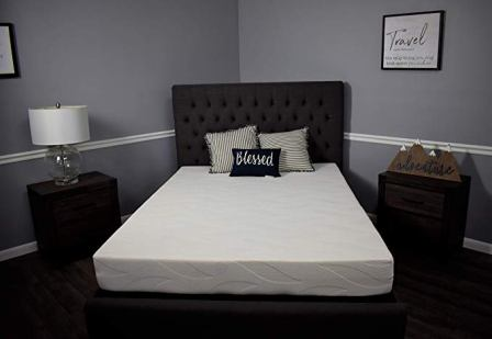 American Mattress Company King Size 6-Inch Graphite Infused Memory Foam King Size
