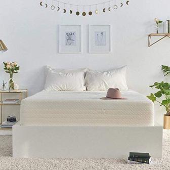 Brentwood Home's Cypress Gel Infused HD Memory Foam 10-Inch Mattress Twin Size