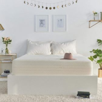 Cypress 13-Inch King Size Cooling Gel Memory Foam Mattress By Brentwood Home