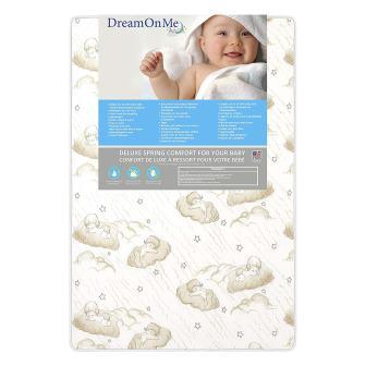 Dream On Me Pocket Coil Mini/Portable Crib Mattress