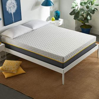 Early Bird 12-Inch Hybrid Spring Mattress and Memory Foam King Size