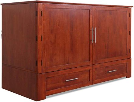 Emurphybed Cherry Cabinet Bed